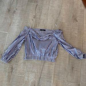 Zara Basic Collection Sleeve crop S
